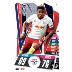 Christopher Nkunku RB Leipzig RBL15 Match Attax Champions International 2020-21