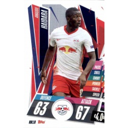 Amadou Haidara RB Leipzig RBL18 Match Attax Champions International 2020-21