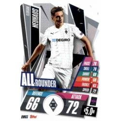 Florian Neuhaus All Rounder Borussia Monchengladbach BMG3 Match Attax Champions International 2020-21