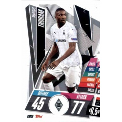 Marcus Thuram Borussia Monchengladbach BMG9 Match Attax Champions International 2020-21