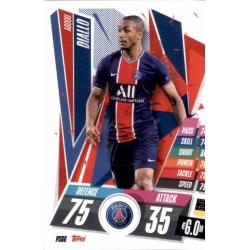Abdou Diallo PSG PSG6 Match Attax Champions International 2020-21
