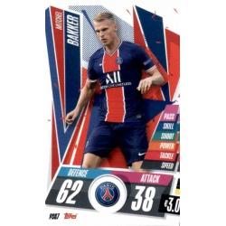 Mitchel Bakker PSG PSG7 Match Attax Champions International 2020-21