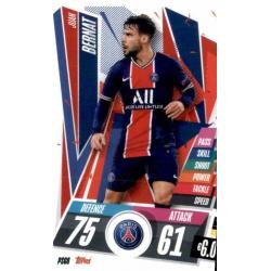Juan Bernat PSG PSG8 Match Attax Champions International 2020-21