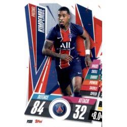 Presnel Kimpembe PSG PSG9 Match Attax Champions International 2020-21