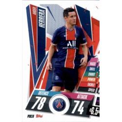 Ander Herrera PSG PSG10 Match Attax Champions International 2020-21
