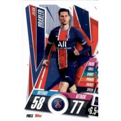 Julian Draxler PSG PSG13 Match Attax Champions International 2020-21