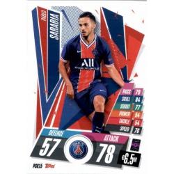 Pablo Sarabia PSG PSG15 Match Attax Champions International 2020-21