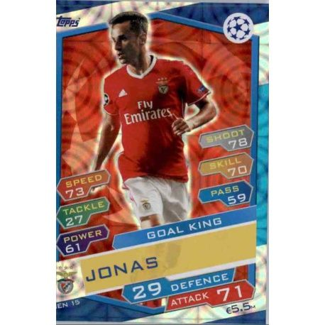finest selection 3f14c 692c8 Buy Online Stickers from Jonas Benfica Match Attax Champions 2016-17