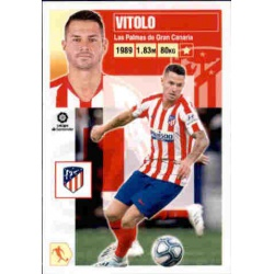 Vitolo Atlético Madrid 14B Ediciones Este 2020-21