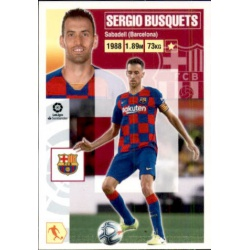 Sergio Busquets Barcelona 11 Ediciones Este 2020-21