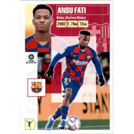 Ansu Fati Barcelona 17 Ediciones Este 2020-21