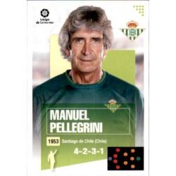 Manuel Pellegrini Betis 1 Ediciones Este 2020-21