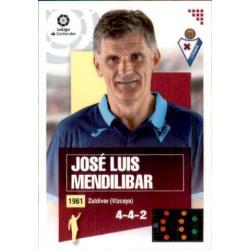 José Luis Mendilibar Eibar 1 Ediciones Este 2020-21
