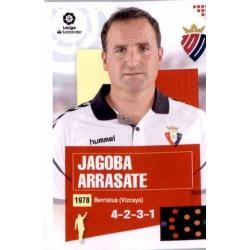 Jagoba Arrasate Osasuna 1 Ediciones Este 2020-21