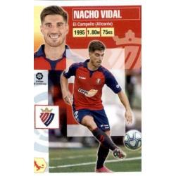 Nacho Vidal Osasuna 4 Ediciones Este 2020-21