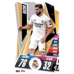 Nacho Real Madrid REA10 Match Attax Champions International 2020-21