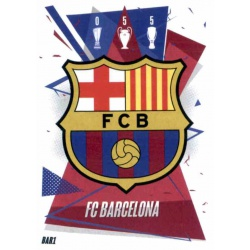 Escudo Barcelona BAR1 Match Attax Champions International 2020-21