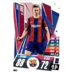 Frenkie De Jong Barcelona BAR11 Match Attax Champions International 2020-21