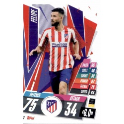 Felipe Atlético Madrid ATL17 Match Attax Champions International 2020-21