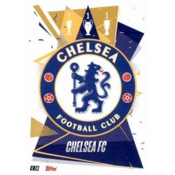 Escudo Chelsea CHE1 Match Attax Champions International 2020-21