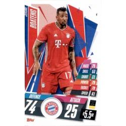 Jerome Boateng Bayern Munchen BAY10 Match Attax Champions International 2020-21