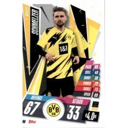 Marcel Schmelzer Borussia Dortmund DOR8 Match Attax Champions International 2020-21