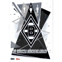 Escudo Borussia Monchengladbach BMG1 Match Attax Champions International 2020-21