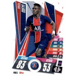 Idrissa Gueye PSG PSG11 Match Attax Champions International 2020-21
