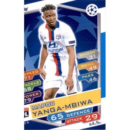 OL-03 HENRI BEDIMO # CAMEROON LYON CARD ADRENALYN FOOT 2015 PANINI