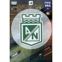 Escudo Atlético Nacional 46