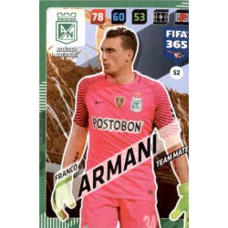 Franco Armani Atlético Nacional 52