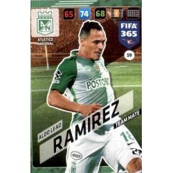 Aldo Leao Ramírez Atlético Nacional 59