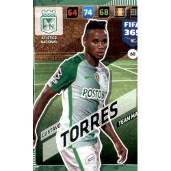 Gustavo Torres Atlético Nacional 60
