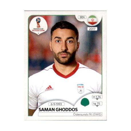 Saman Ghoddos Irán 187 Irán