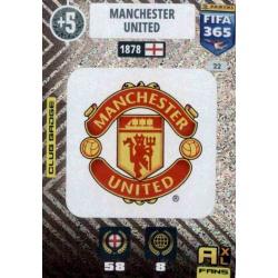 Escudo Manchester United 22