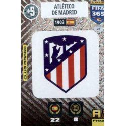 Escudo Atlético Madrid 25