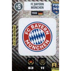 Escudo Bayern München 40