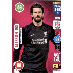 Alisson Liverpool 66