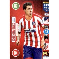 José Giménez Atlético Madrid 90