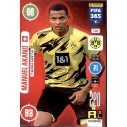 Manuel Akanji Borussia Dortmund 104