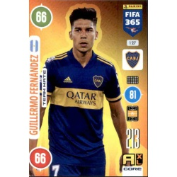Guillermo Fernández Boca Juniors 127