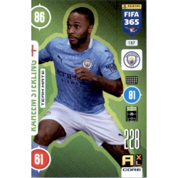 Raheem Sterling Manchester City 187
