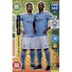 Fernandinho - Gabriel Jesus Manchester City 237