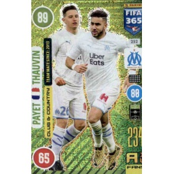 Payet - Thauvin Club & Country Olympique Marseille 252