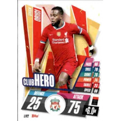 Divock Origi Club Hero Liverpool LIV2