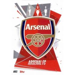 Team Badge Update Card Arsenal ARS1