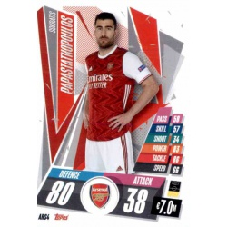 Sokratis Papastathopoulos Update Card Arsenal ARS4
