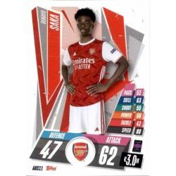Bukayo Saka Update Card Arsenal ARS11