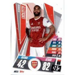 Alexandre Lacazette Update Card Arsenal ARS15