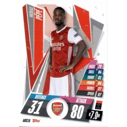 Nicola Pépé Update Card Arsenal ARS16